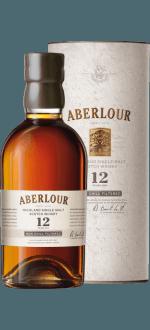 ABERLOUR 12 JAHRE - NON CHILL FILTERED - EN ETUI