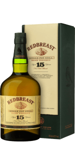 REDBREAST 15 JAHRE SINGLE POT STILL - MIT ETUI