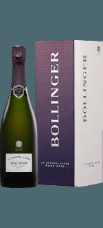 CHAMPAGNER BOLLINGER - LA GRANDE ANNEE ROSE 2007 - EN GESCHENKSET