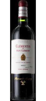 LE CLEMENTIN DE PAPE CLEMENT 2014 - ZWEITWEIN CHATEAU PAPE-CLEMENT
