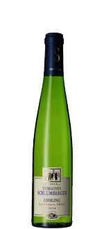 HALBE FLASCHE - RIESLING 2014 - LES PRINCES ABBES - DOMAINE SCHLUMBERGER