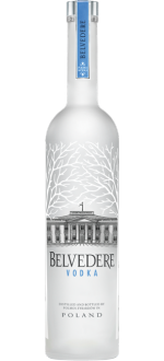 ILLUMINATED JEROBOAM VODKA BELVEDERE PURE