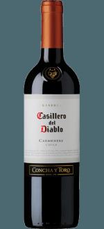 RESERVA CARMENERE 2017 - CASILLERO DEL DIABLO - CONCHA Y TORO