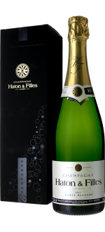 CHAMPAGNER HATON & FILLES - CARTE BLANCHE - MIT ETUI