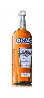 PASTIS RICARD (Frankreich - spirituosen - Anisgetränk - 1 L)