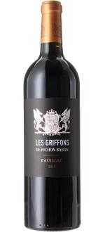 LES GRIFFONS 2015 - ZWEITWEIN CHATEAU PICHON BARON DE LONGUEVILLE