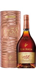 REMY MARTIN 1738 - GESCHENKSET METAL CUIVRE