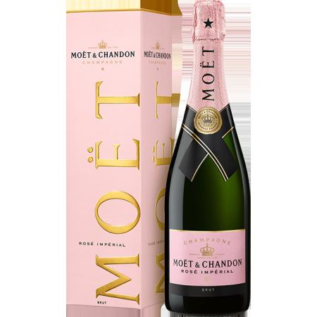 CHAMPAGNER MOET & CHANDON - BRUT IMPERIAL ROSE - MIT ETUI