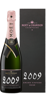 MOET CHANDON - GRAND VINTAGE ROSE 2009 CHAMPAGNER - MIT ETUI