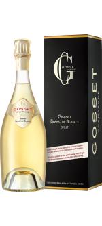 CHAMPAGNER GOSSET - GRAND BLANC DE BLANCS - MIT ETUI