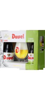 GESCHENKSET DUVEL 2*33CL (DUVEL + TRIPEL HOP CITRA) + 1 GLAS - BRAUEREI DUVEL MOORTGAT
