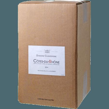 BAG-IN-BOX 5L - WEINSCHLAUCH - COTES DU RHONE 2019 - DOMAINE CHANTEPIERRE