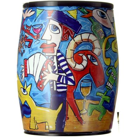 BAG-IN-BOX - WEINSCHLAUCH BIB ART ROSE - CAROLINE CAVALIER - LE BENJAMIN DE PUECH HAUT