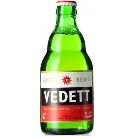 VEDETT EXTRA BLOND 33CL - BRAUEREI DUVEL MOORTGAT