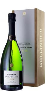 CHAMPAGNER BOLLINGER - LA GRANDE ANNEE 2008 - EN GESCHENKSET
