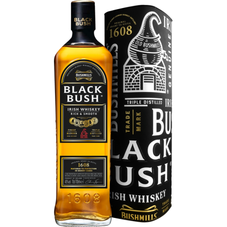 BUSHMILLS - BLACK BUSH - MIT ETUI