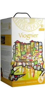 BAG-IN-BOX 5L - WEINSCHLAUCH - VIOGNIER - VIGNERONS ARDECHOIS