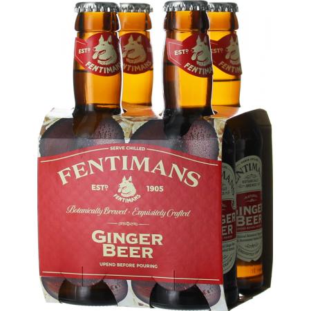 GINGER BEER PACK DE 4*20 CL - FENTIMANS
