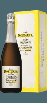 CHAMPAGNER LOUIS ROEDERER - BRUT NATURE 2012 - EN GESCHENKSET
