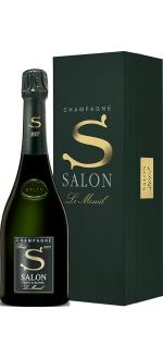 CHAMPAGNER SALON - BLANC DE BLANCS - S 2007 - LE MESNIL - PRESTIGE GESCHENKBOX