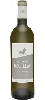 LE DADA DE ROUILLAC 2012 - ZWEITWEIN CHATEAU ROUILLAC (Frankreich - wein Bordeaux - Pessac-Léognan AOC - Weißwein - 0,75 L)