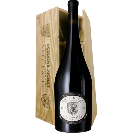 MAGNUM - COTE ROTIE - CUVEE OENOTHEQUE 2015 - DOMAINE STEPHANE PICHAT - HOLZKISTE