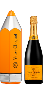 CHAMPAGNER VEUVE CLICQUOT - BRUT CARTE JAUNE - LIMITED EDITION CRAYON