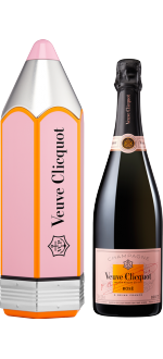 CHAMPAGNER VEUVE CLICQUOT - BRUT ROSE - LIMITED EDITION CRAYON