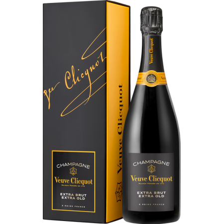 VEUVE CLICQUOT CHAMPAGNER - EXTRA BRUT EXTRA OLD - MIT ETUI