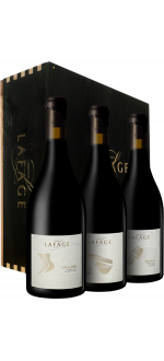 DOMAINE LAFAGE - LES PARCELLAIRES 2015 - IN HOLZKISTE - OHK - 3 FLASCHEN