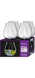 GIN SET OPTICAL - 4 GLÄSER - REF 5515/67 - RIEDEL