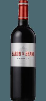 BARON DE BRANE 2016 - ZWEITWEIN CHATEAU DE BRANE CANTENAC