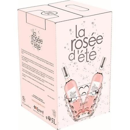 BAG-IN-BOX 5L - WEINSCHLAUCH 5L - LA ROSEE D'ETE 2019 - DOMAINE LORGERIL