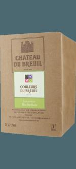 BAG-IN-BOX - WEINSCHLAUCH 5L - ANJOU BLANC - LES PETITES ROCHETTES 2019 - CHATEAU DU BREUIL