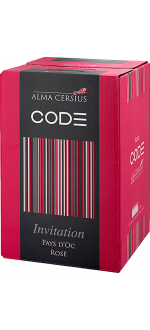 BAG-IN-BOX - WEINSCHLAUCH 3L - ROSE INVITATION - ALMA CERSIUS