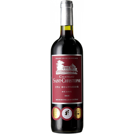 CHATEAU SAINT CHRISTOPHE 2016 -CRU BOURGEOIS
