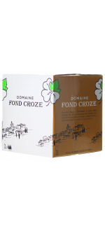 BAG-IN-BOX - WEINSCHLAUCH 3L - IGP ROSE 2019 - DOMAINE FOND CROZE