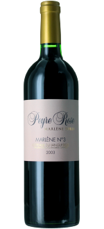 MARLENE N°3 2005 - DOMAINE PEYRE ROSE