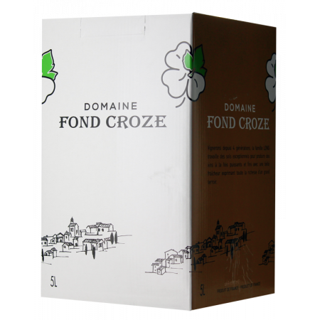 BAG-IN-BOX 5L - WEINSCHLAUCH - CONFIDENCE 2019 - DOMAINE FOND CROZE
