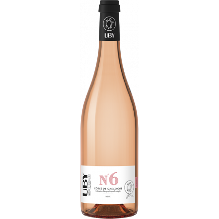 UBY ROSE N°6 2019 - DOMAINE UBY