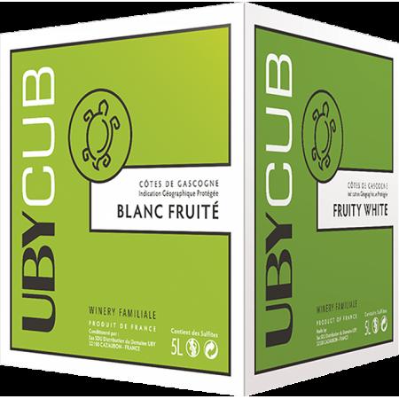 BIB WEISSWEIN 5L - UBY CUBE BLANC SEC - DOMAINE UBY