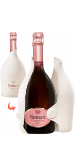 CHAMPAGNER RUINART - BRUT ROSE - SECOND SKIN