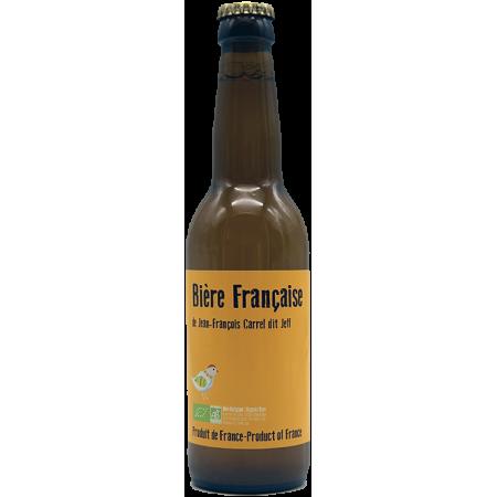 BIERE FRANCAISE 33CL - JEFF CARREL