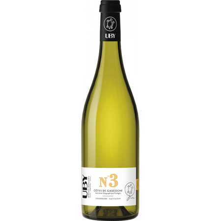 COLOMBARD-SAUVIGNON BLANC N°3 2020 - DOMAINE UBY