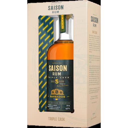 RUM SAISON TRIPLE CASK - BARBADOS 5 JAHRE - MIT ETUI