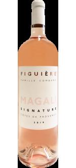 DOPPEL-MAGNUM CUVEE MAGALI 2020 - FIGUIERE
