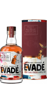 WHISKY FRANCAIS EVADÉ - SINGLE MALT RED WINE CASK FINISH - MIT ETUI