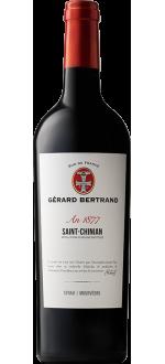 "HERITAGE ""AN 1877"" - SAINT CHINIAN 2018 - GERARD BERTRAND"