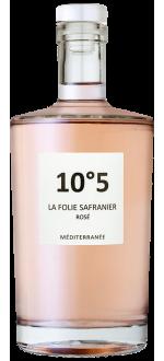 10°5 ROSÉ 2020 - LA FOLIE SAFRANIER