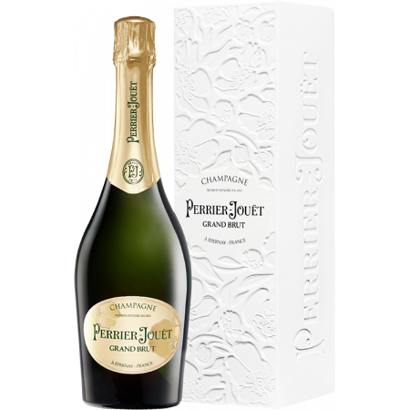 CHAMPAGNER PERRIER JOUËT - GRAND BRUT - MIT ETUI ECO-BOX